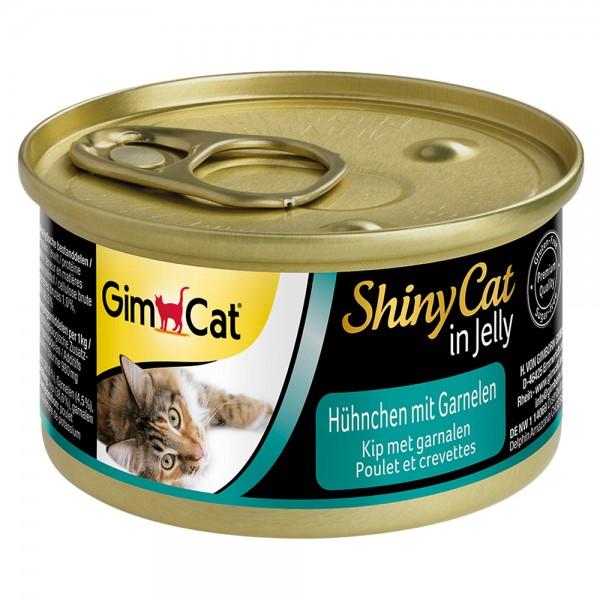 GimCat Shinycat Hühnchen + Garnele
