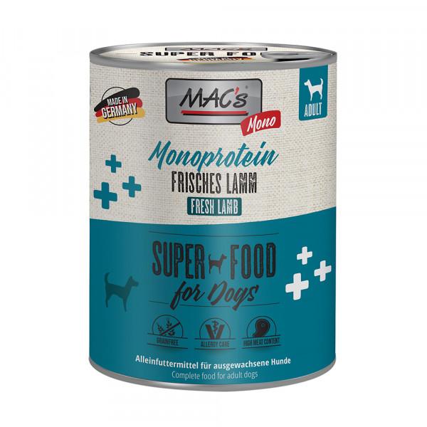 MAC´s DOG Mono Sensitive Lamm