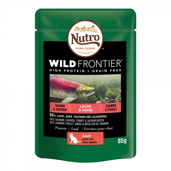 Nutro Cat Wild Frontier Adult Lachs & Huhn