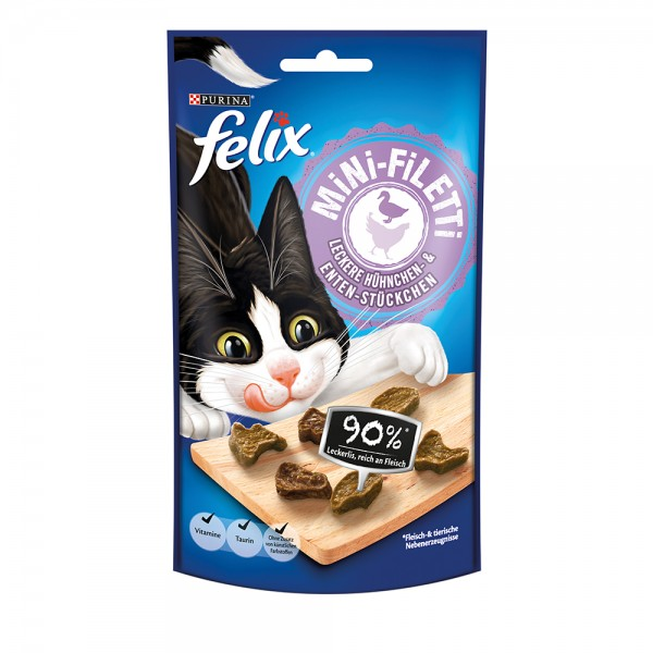 Felix Mini-Filetti Huhn & Ente