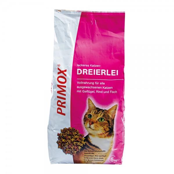 Primox Katzenfutter Dreierlei 5 kg