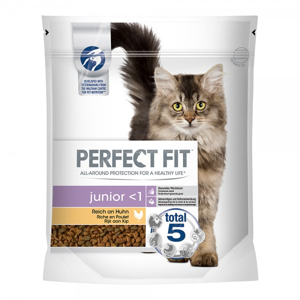 Perfect Fit Junior <1 reich an Huhn