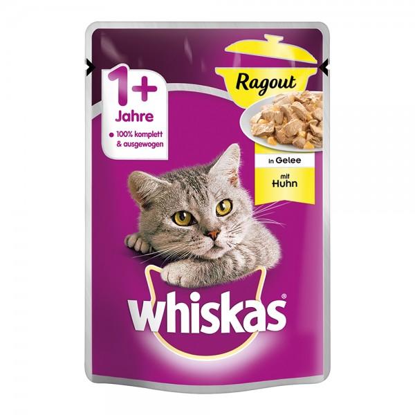Whiskas 1+ Ragout mit Huhn in Gelee