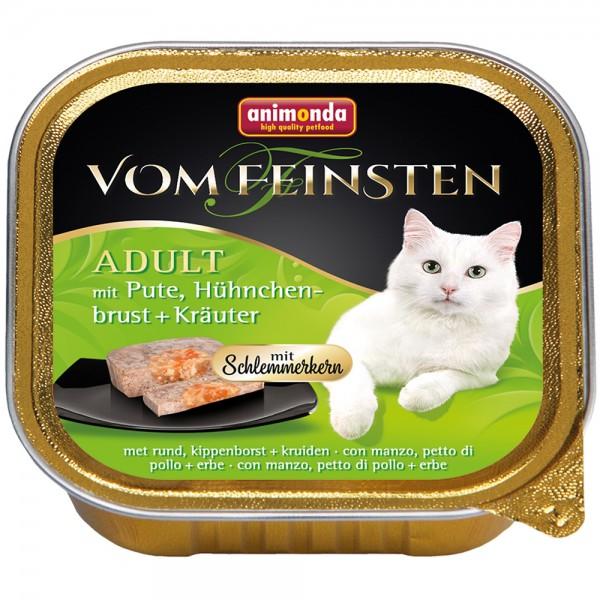 Animonda Vom Feinsten mit Pute, Hühnchenbrust + Kräuter