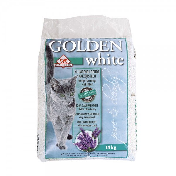 Golden Grey Golden White Katzenstreu