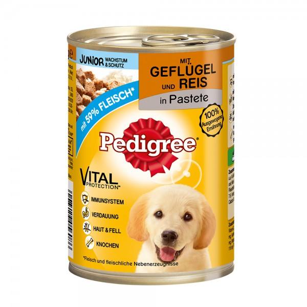 Pedigree Junior Geflügel&Reis