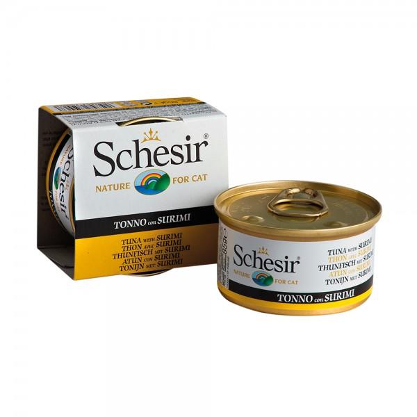 Schesir Cat Jelly Thunfisch mit Surimi