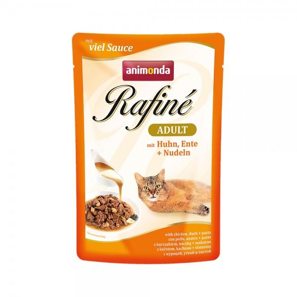 Animonda Rafine Soupe Adult mit Huhn, Ente & Nudeln