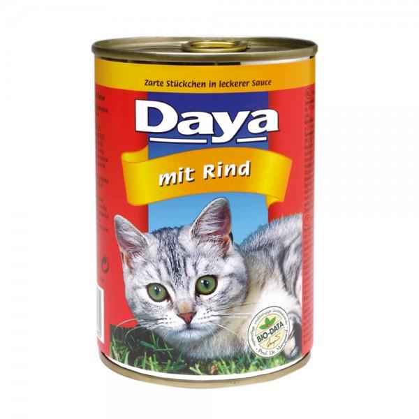 Daya Häppchen in Sauce mit Rind