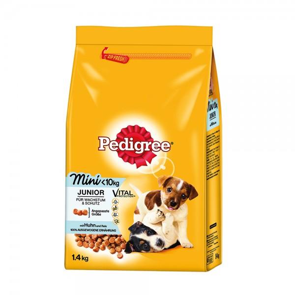 Pedigree Junior Mini mit Huhn und Reis