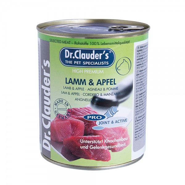 Dr. Clauder Selected Meat Lamm & Apfel