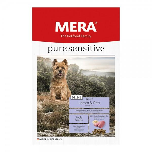 Mera Pure Sensitiv Mini Lamm & Reis