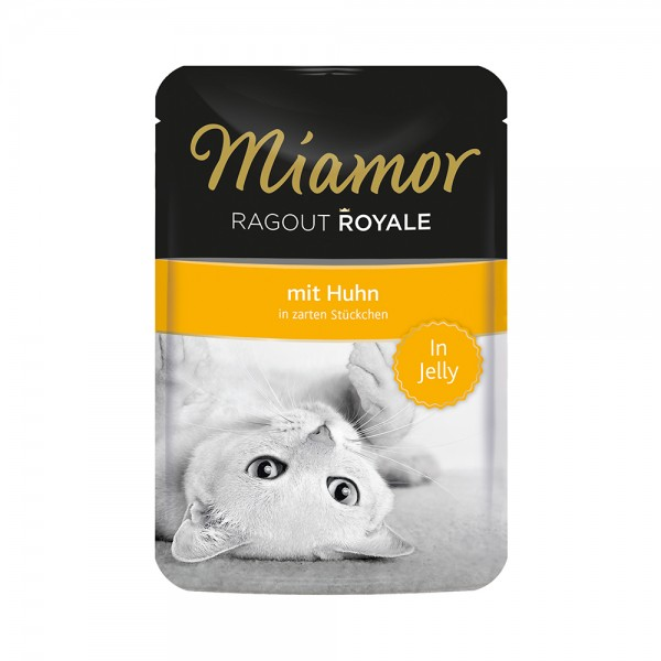 Miamor Ragout Royal in Jelly Huhn