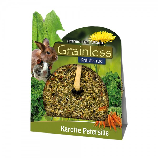 JR Farm Grainless Kräuter-Rad Karotte&Petersilie