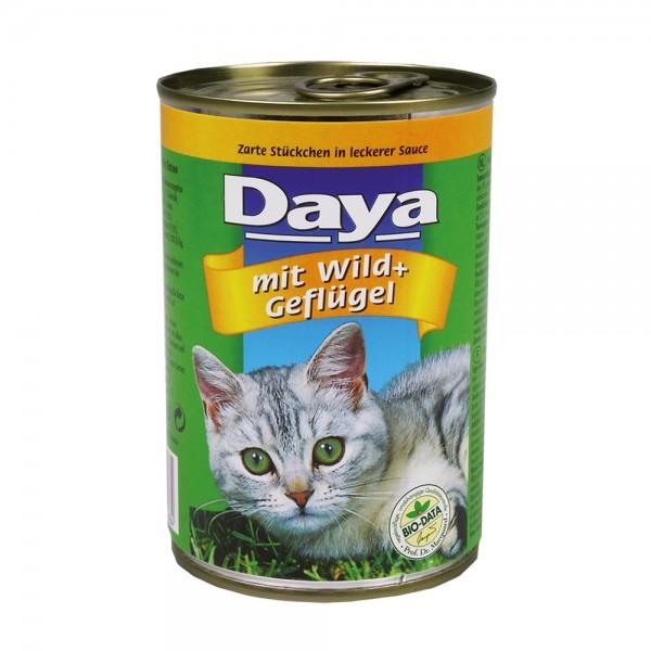 Daya Häppchen in Sauce mit Wild&Geflügel