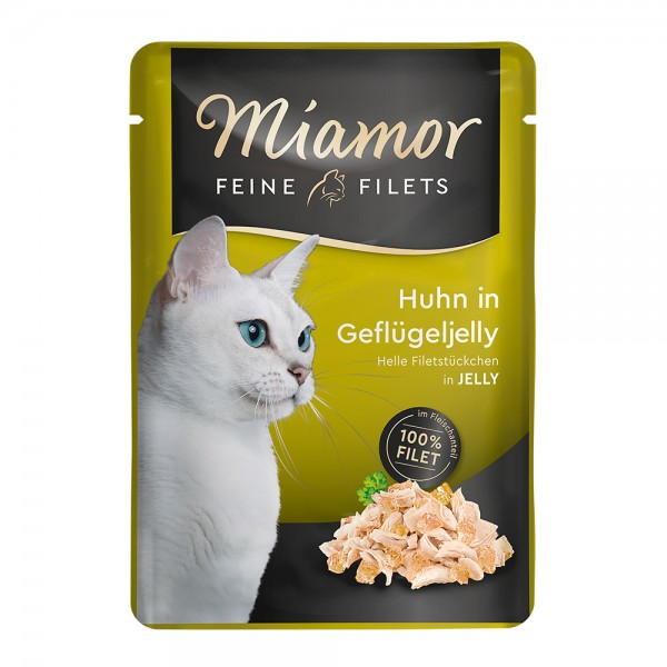 Miamor Feine Filets Huhn in Geflügel-Jelly