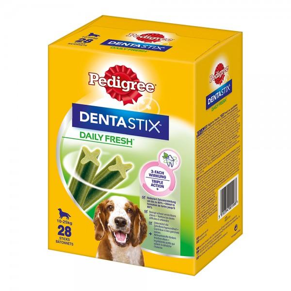 Pedigree Dentastix Tägliche Frische Multipack für mittelgroße Hunde 4x7 Stück