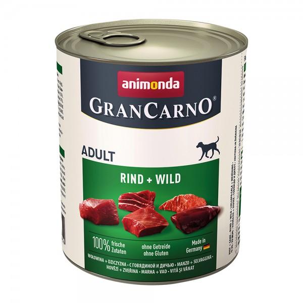 Animonda Gran Carno Original Adult Rind + Wild