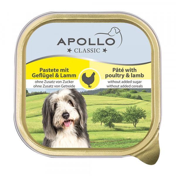 Apollo Pastete mit Geflügel & Lamm