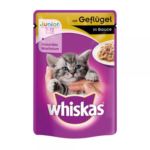 Whiskas Junior Geflügel 100g
