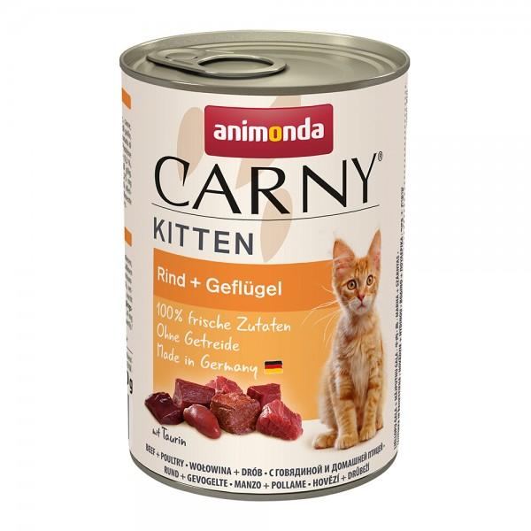 Animonda Carny Kitten Rind+Geflügel