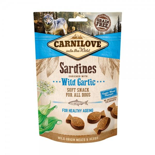 Carnilove Soft Snack Sardines with Wild Garlic