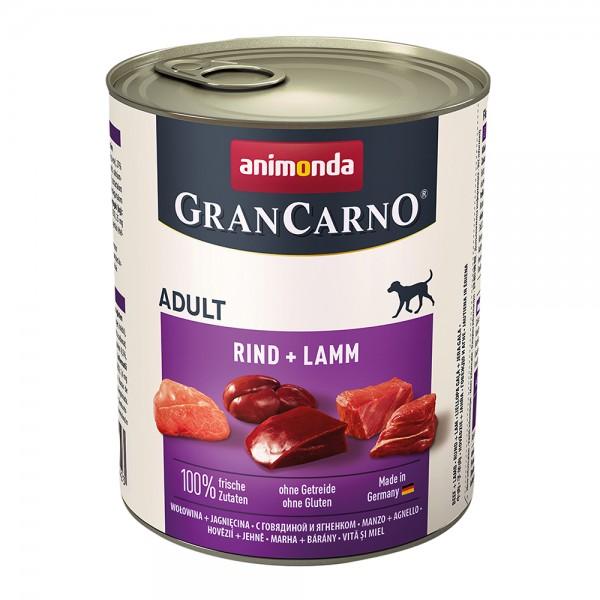 Animonda Gran Carno Original Adult Rind + Lamm