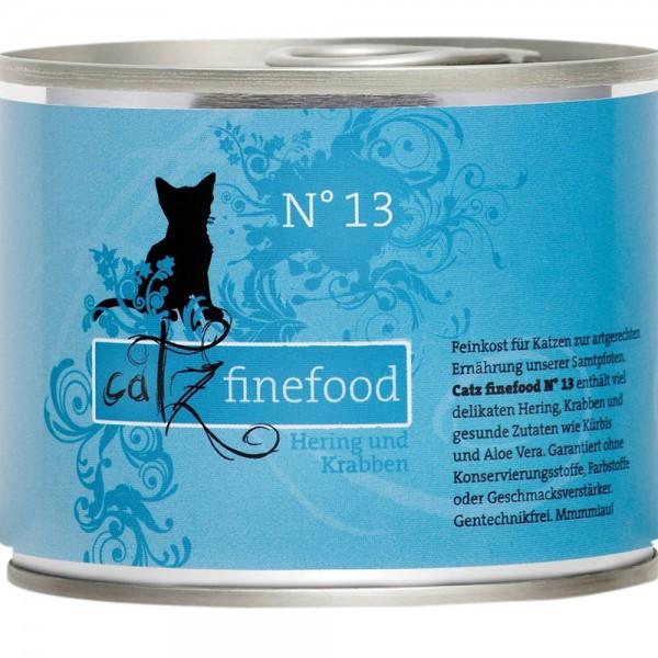 Catz Finefood No. 13 Hering & Krabben