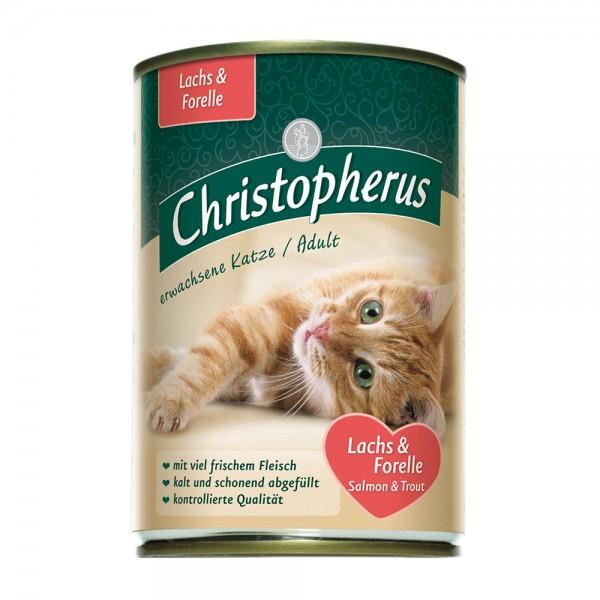 Allco Christopherus Erwachsene Katzen - Lachs&Forelle