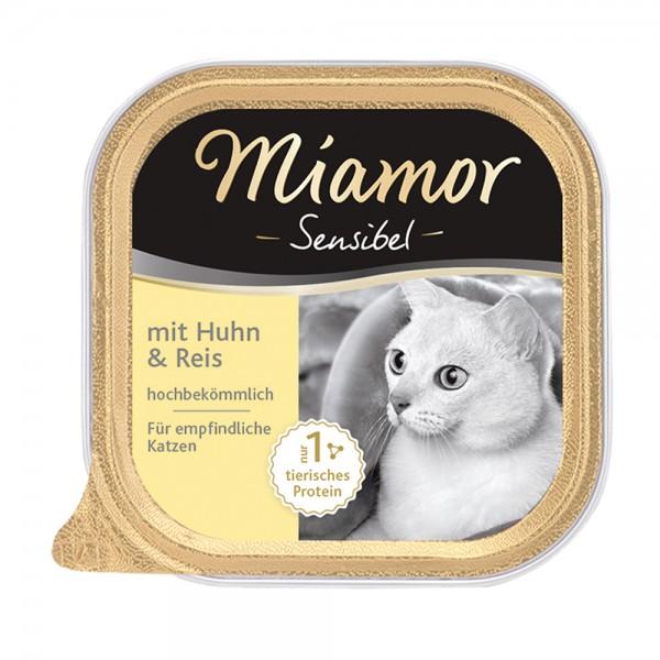 Miamor Sensibel Huhn & Reis