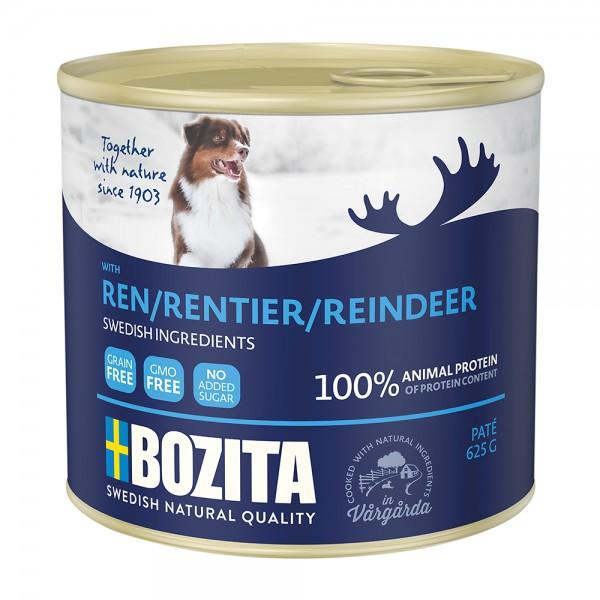 Bozita Pate mit Rentier
