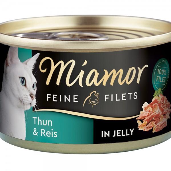 Miamor Feine Filets in Jelly Thunfisch & Reis