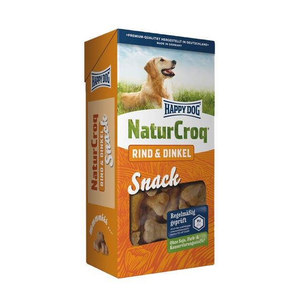 Happy Dog Natur Snack Rind + Dinkel