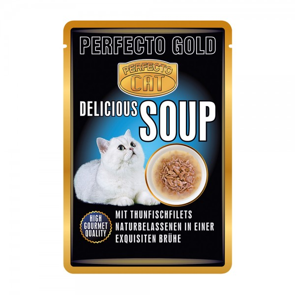 Perfecto Cat Delicious Soup Thunfischfiltes