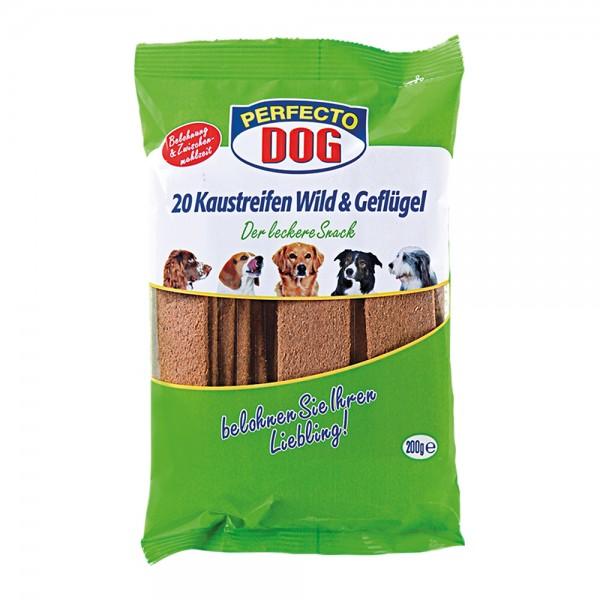 Perfecto Dog Wild & Geflügel 20er Streifen