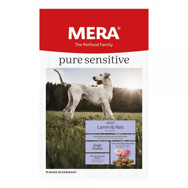 Mera Pure sensitive Adult Lamm + Reis
