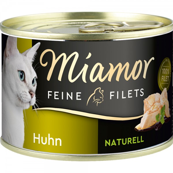 Miamor Feine Filets Natur Huhn