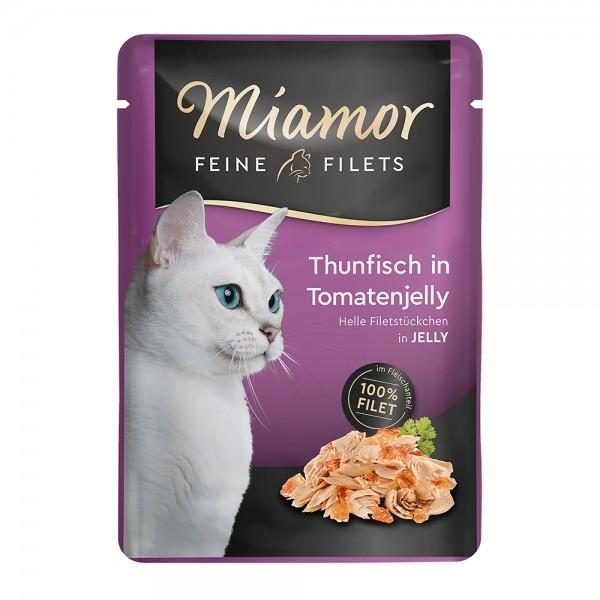 Miamor Feine Filets Thunfisch in Tomatenjelly