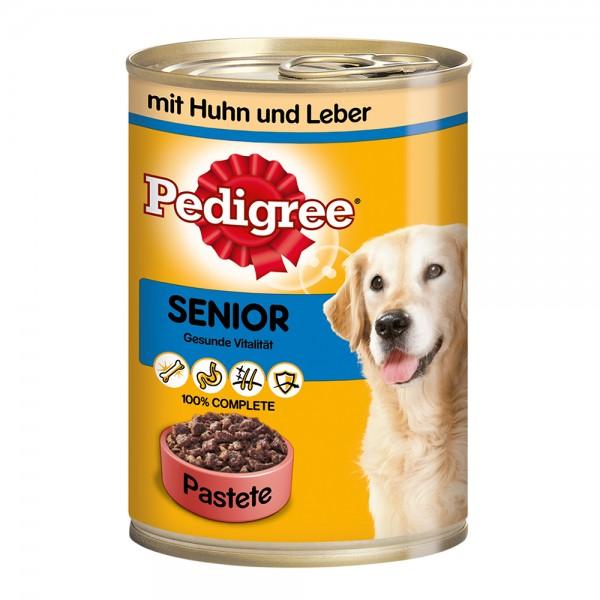 Pedigree Senior Huhn&Leber 400g