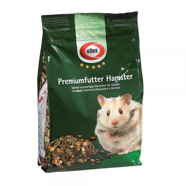 elles Premiumfutter Hamster 800 g