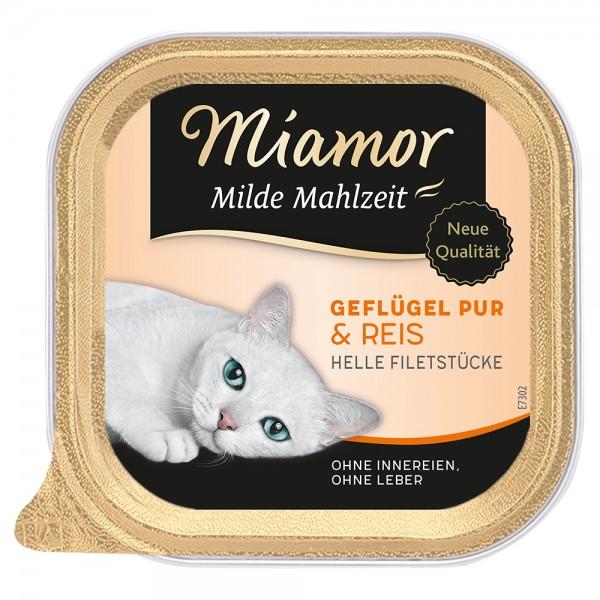 Miamor Milde Mahlzeit Geflügel & Reis