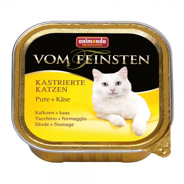 Animonda Vom Feinsten für kastrierte Katzen Pute + Käse