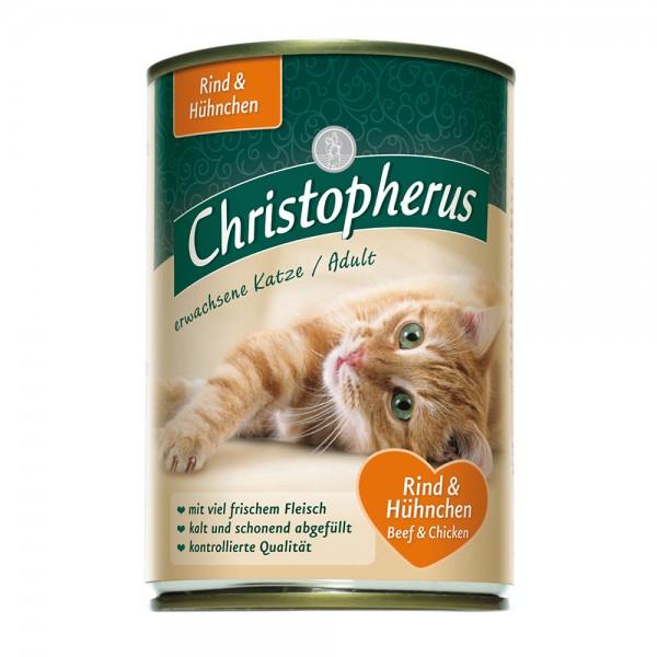 Allco Christopherus Erwachsene Katzen - Rind&Hühnchen
