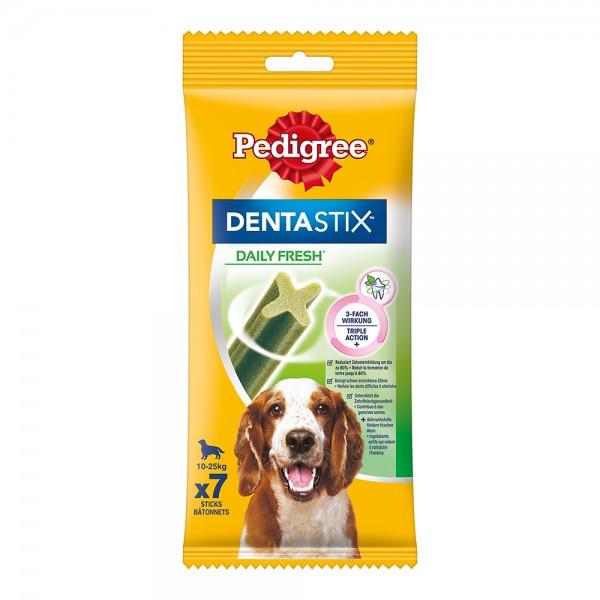Pedigree Dentastix Tägliche Frische für mittelgroße Hunde 7 Stück