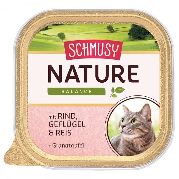 Schmusy Nature Rind & Geflügel