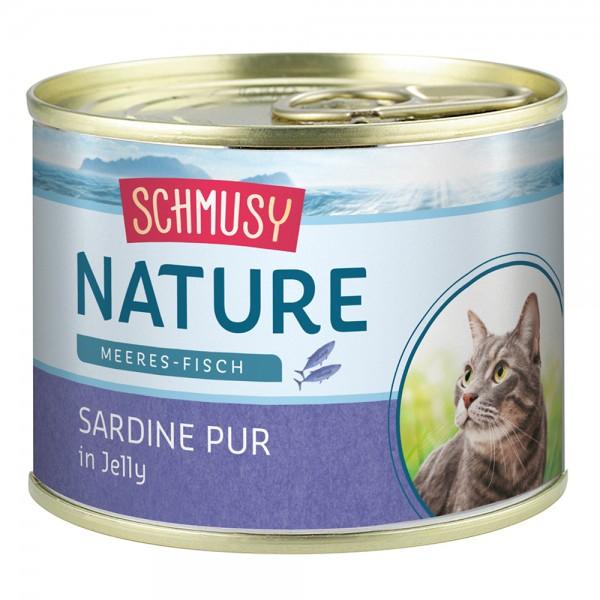 Schmusy Nature Meeres-Fisch Sardine pur