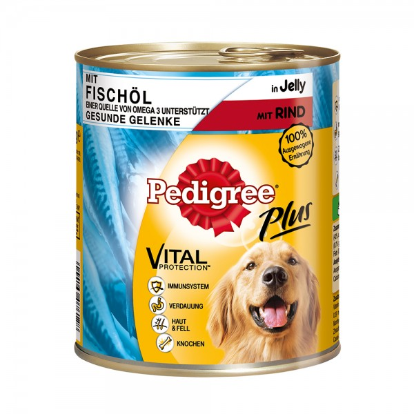 Pedigree Plus Fischöl-Rind