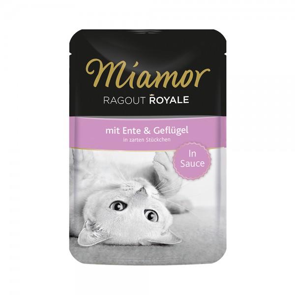 Miamor Ragout Royale in Sauce Ente & Geflügel