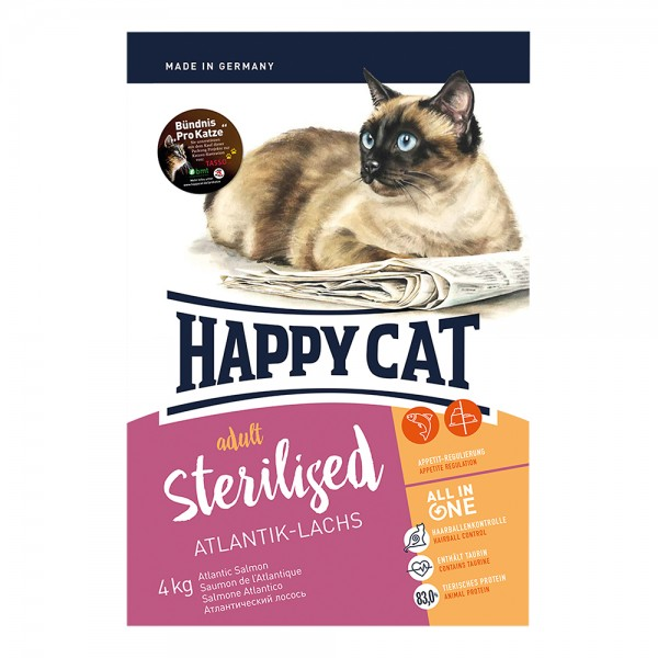 Happy Cat Supreme Sterilised Lachs