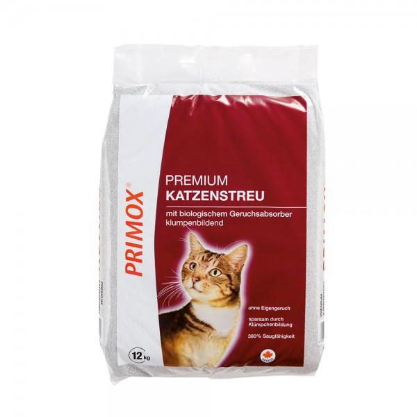 Primox Premium Katzenstreu m.Geruchsabsorber 12kg